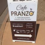 cafe pranzo sandwich sign